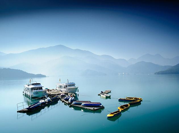 愛上台灣藍藍的天際線      台灣環島8天7夜之旅 1